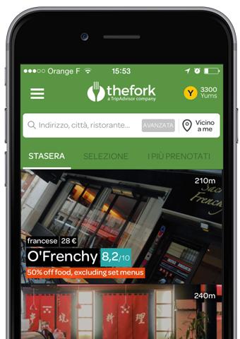 the fork risparmia sui ristoranti